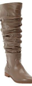 NWOT Tall Wide Calf Scrunch Boots